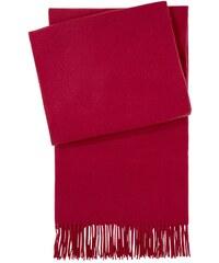 Yves Delorme Ariane - Plaid en cachemire - rouge