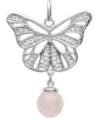 Tous mes bijoux Pendentif en argent - rose