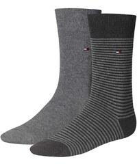 Tommy Hilfiger Socks Lot de 2 paires de chaussettes - gris
