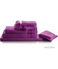 Anne De Solène Pétale Iris - Tapis de bain - violet