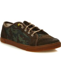 Timberland Sneakers mit Ledereinsatz - tarnfarben