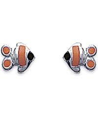 Tous mes bijoux Boucles d'oreilles en argent - orange