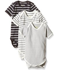 MINI MIZE by MAMLICIOUS Unisex Baby Body Mmdust Body S/s Basic - U - 3 Pack 15