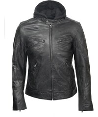 DKS Etrog - Blouson en cuir - noir