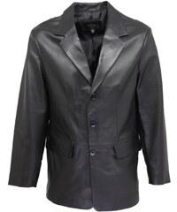 DKS Aston - Veste en cuir - noir