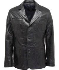 DKS Bruce - Veste en cuir - noir