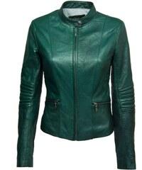 DKS Shiry - Blouson en cuir - vert