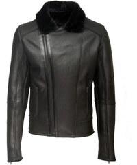 DKS Tango - Biker en cuir - noir