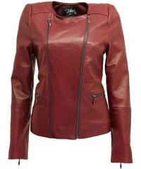 DKS Leeby - Blouson en cuir - bordeaux