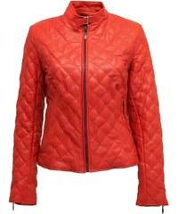 DKS Lily - Blouson en cuir - rouge