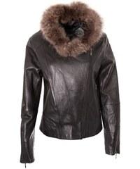 DKS Myri - Blouson en cuir - noir