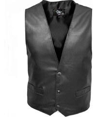 DKS Barm - Gilet en cuir - noir