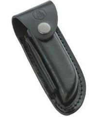 Laguiole Étui pour couteaux de poche en cuir - noir
