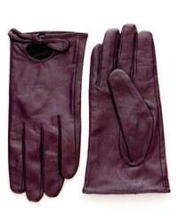 Feeling Lederhandschuhe - violett