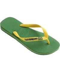 Havaianas BRASIL LOGO - Flipflops - grün
