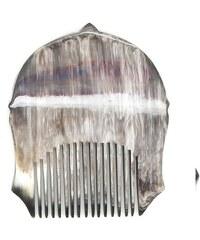 L'Artisan Créateur Peigne casque romain - corne foncée - multicolore