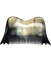 L'Artisan Créateur Peigne moustache dupont & dupond - corne foncée - multicolore