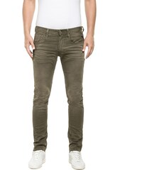 Replay Anbass - Jeans mit Slimcut - khaki