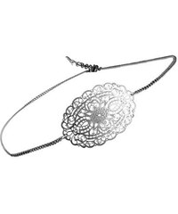Vogline Headband Estampe - argenté