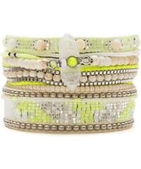 Hipanema Limon - Bracelet manchette, multi-rangs