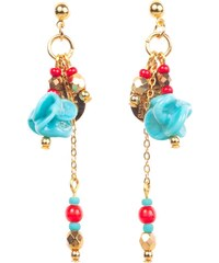 Objets Obscurs Bijoux XINGDU - Boucles d'oreilles - Turquoise
