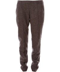 Mexx Pantalon de ville en laine mélangée - gris foncé