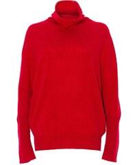 Stefanie Renoma Pull en laine et cachemire - rouge