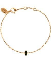 Caroline Najman Baguette Simple - Bracelet chaîne - Emerald