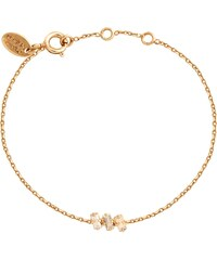 Caroline Najman Baguette Triple - Bracelet chaîne - Golden Shadow