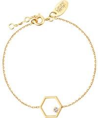 Caroline Najman Honey - Bracelet chaîne - Crystal