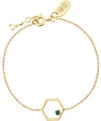 Caroline Najman Honey - Bracelet chaîne - Emerald