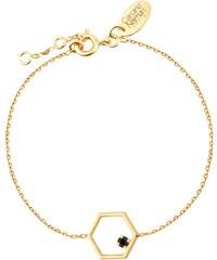Caroline Najman Honey - Bracelet chaîne - Jet