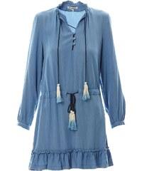 La petite française Phenomene - Robe courte - bleu délavé