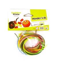 Wonderkids Sachet de 10 scoubidous - multicolore