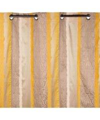 Madura Chenonceau - Rideau à oeillets - jaune pâle