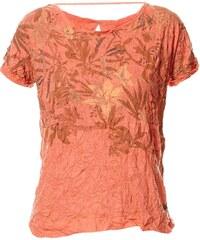 Oxbow T-shirt effet froissé - corail