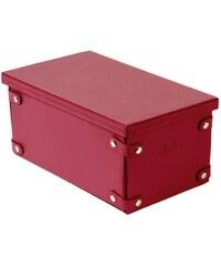Madura Winston - Boîte de rangement - rouge vif 38*33*15cm