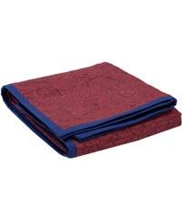 Madura Flora - Couvre-lit - Bleu et rouge