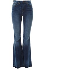 Only Jeans mit Bootcut - jeansblau