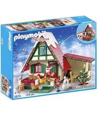 Playmobil Christmas - Maisonnette du père noel - multicolore