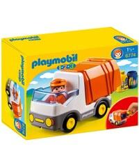 Playmobil 123 - Camion poubelle Playmobil - multicolore