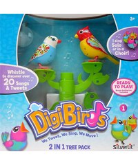 Silverlit Arbre + 2 Digibirds - multicolore