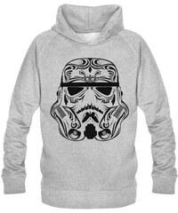 No Comment Paris trooper design - Top/tee-shirt - gris chine