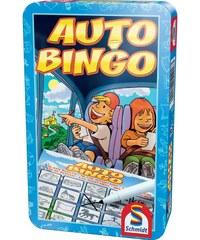 Schmidt Auto bingo boite métal - Jeu de société - multicolore