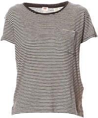 Levi's Side vents - T-shirt en lin mélangé - rayé