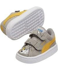 Puma Tom&Jerry - Baskets - en cuir suédé gris
