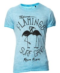 Best Mountain T-shirt - turquoise