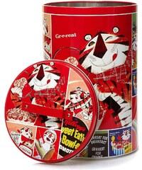 Excellent houseware Boîte à provisions - rouge