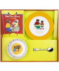Guy Degrenne Petit ours brun - Coffret vaisselle - bicolore