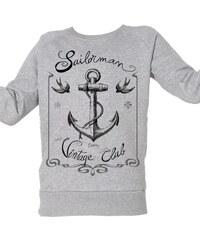 ArteCita Club Voile Vintage - Top/tee-shirt - gris chine